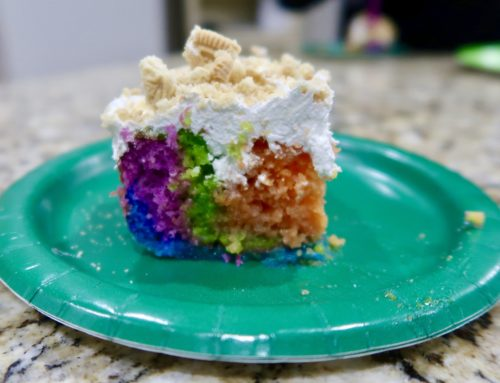 Over the Rainbow Cake